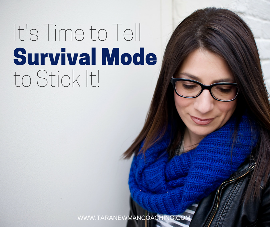 It's time to tell to tell survival mode to stick it!