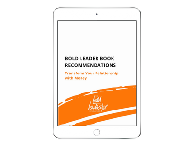 Bold Leader Reading list - Click the image to download the booklist for this episode.