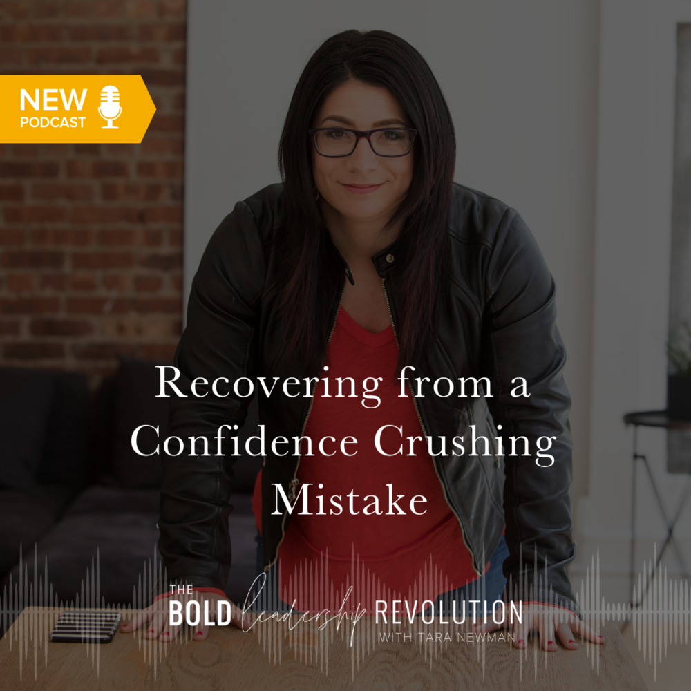 Recovering from a Confidence Crushing Mistake
