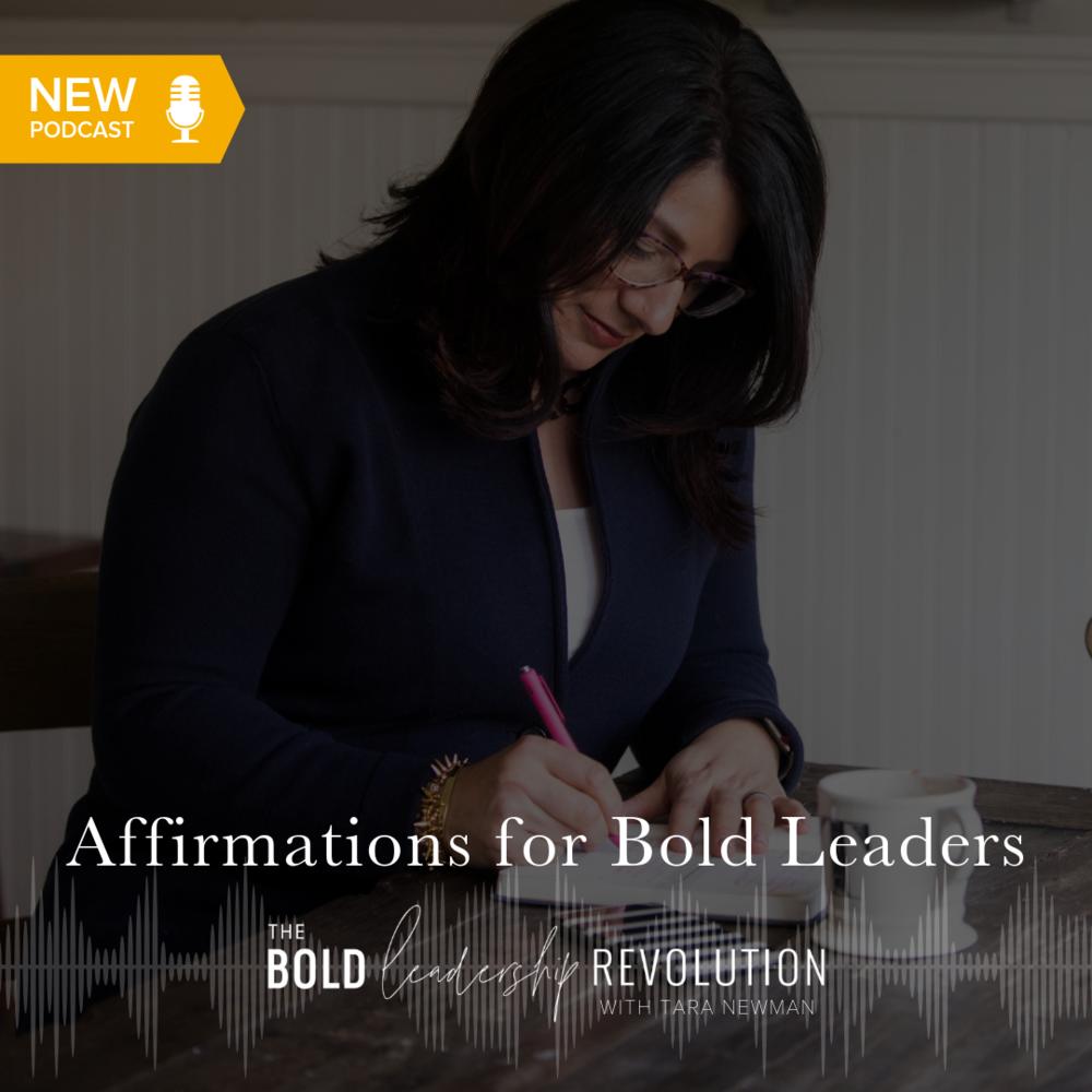 Podcast — The Bold Leadership Revolution