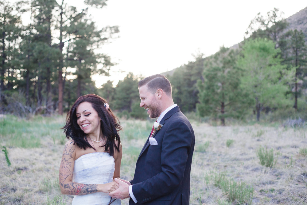 Flagstaff wedding photography