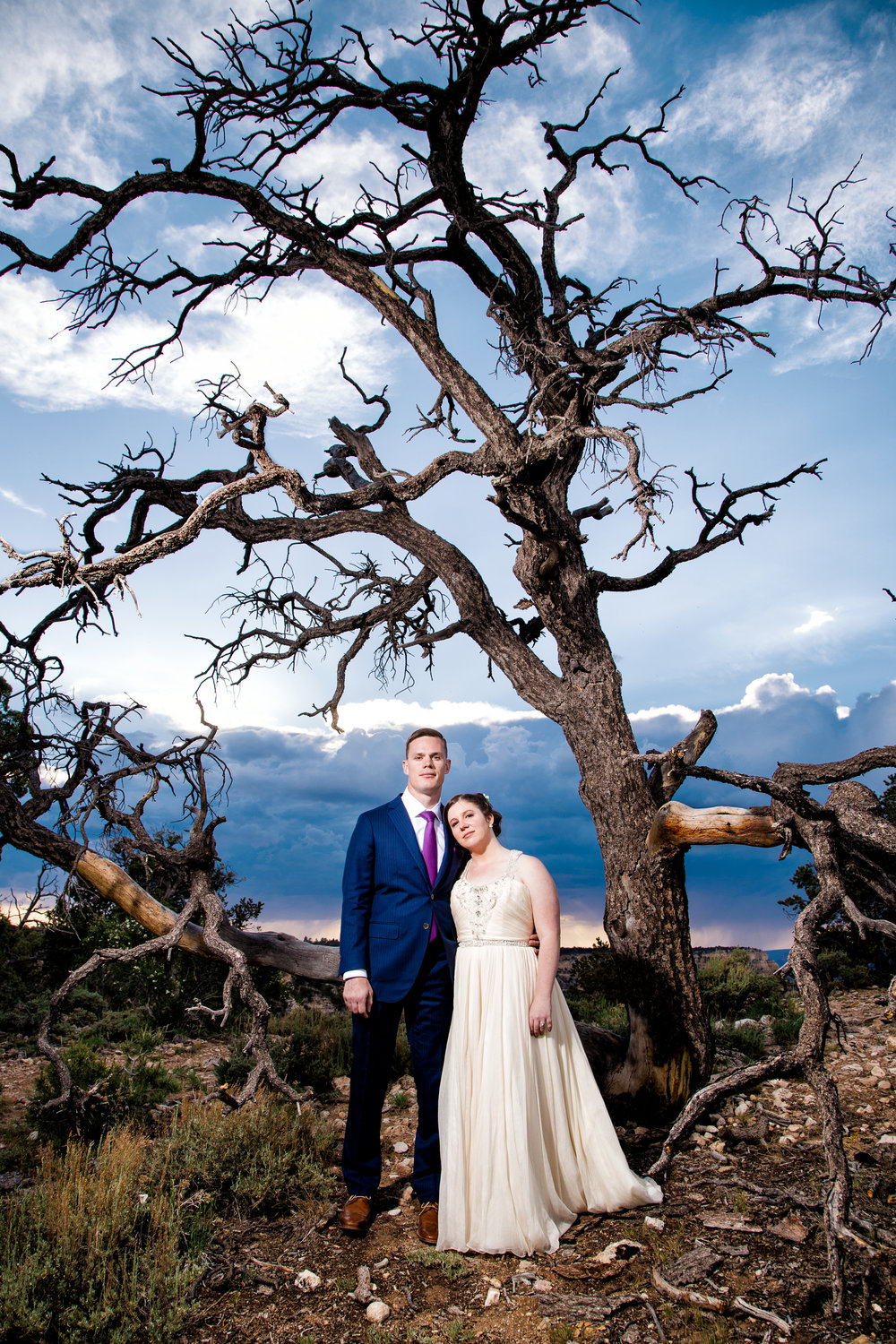 Shoshone Point wedding reception
