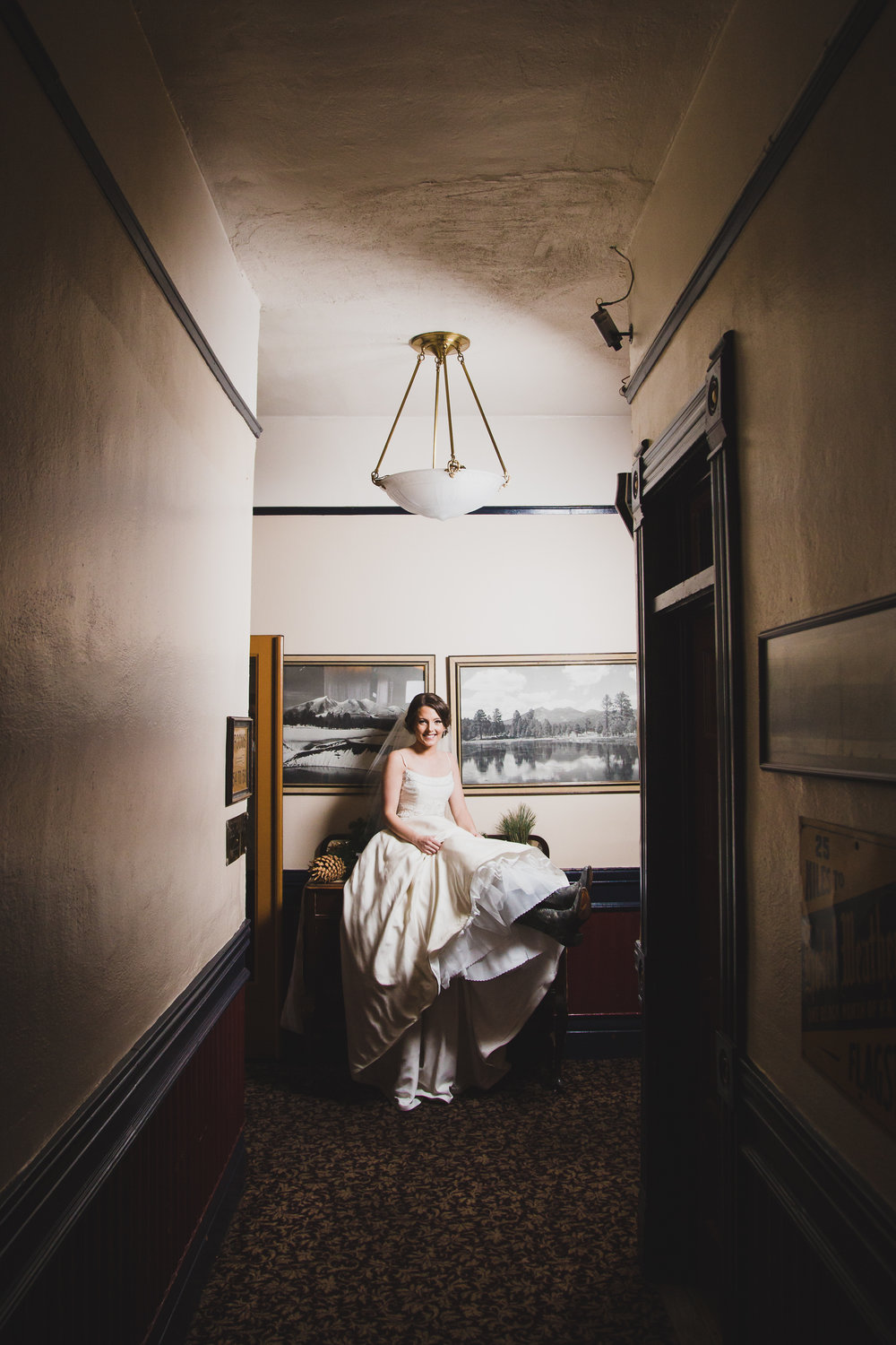 Weatherford hotel bride