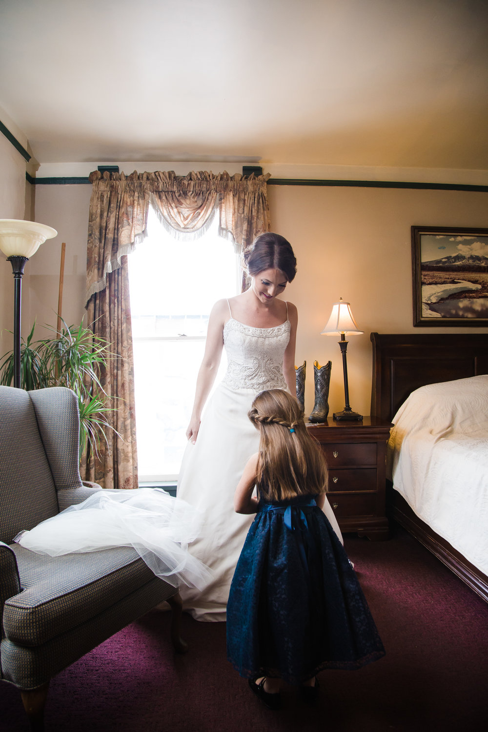 Flagstaff wedding photographer, Weatherford Hotel wedding
