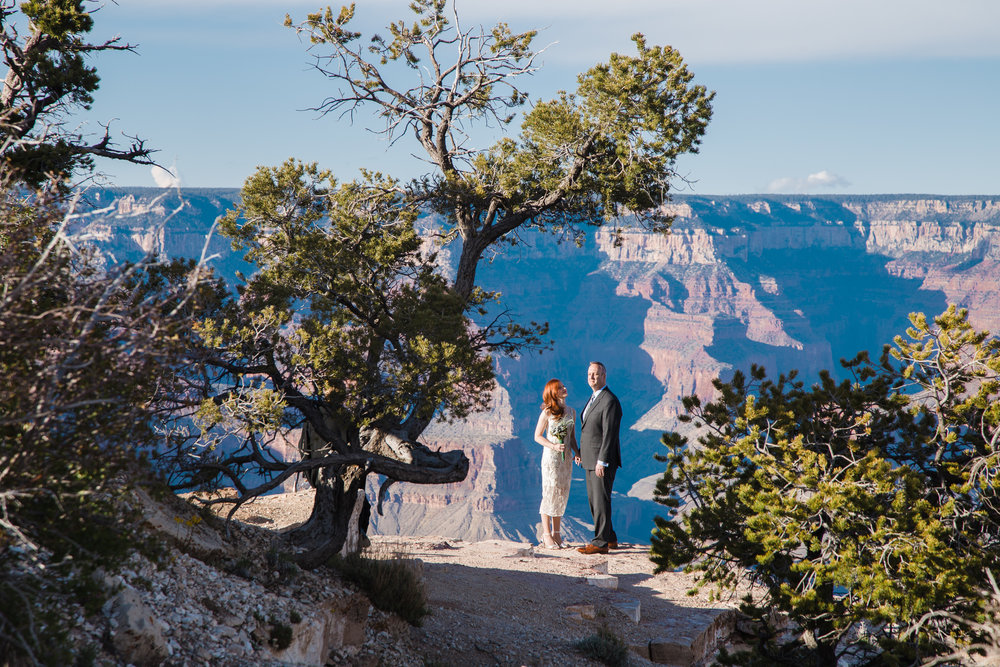 Shoshone Point wedding photography