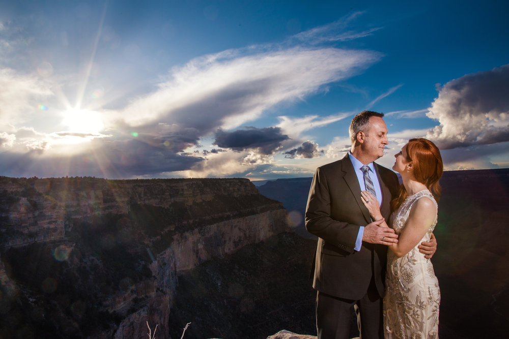 Grand Canyon wedding photographerd