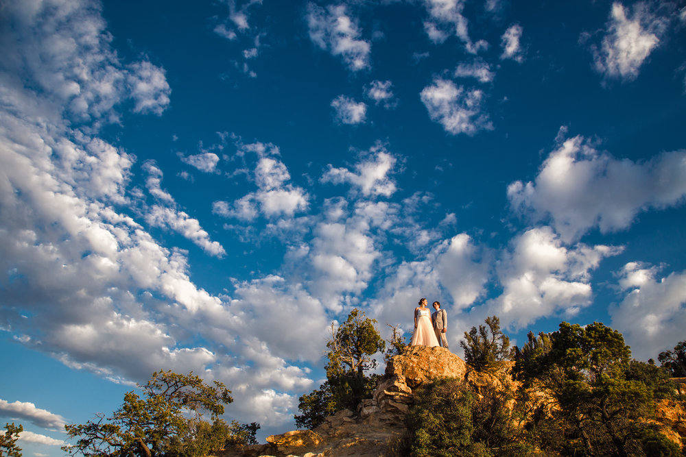 Moran Point Grand Canyon wedding