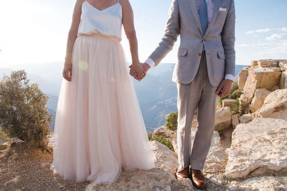 Erin and travis: Moran Point, Grand Canyon wedding. Click image to view slideshow.