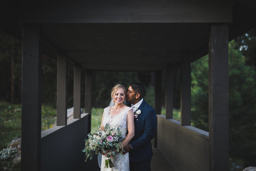 Flagstaff Arboretum Wedding portrait