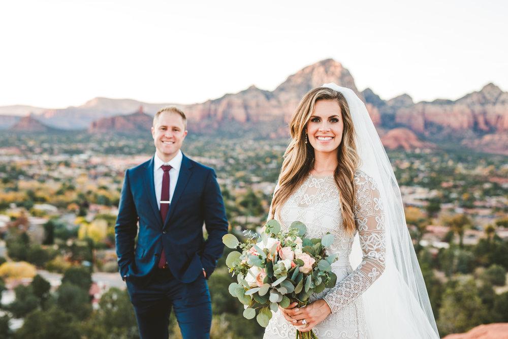 Maggie and Karl: Sedona Sky Ranch Lodge Wedding. Click image to view slideshow.