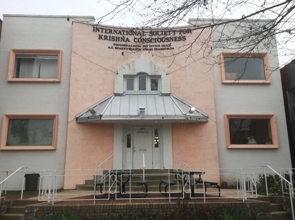International Society for Krishna Consciousness temple, located on at 3926 Lindell Blvd. It is conveniently located next to Saint Louis University, and it attracts many students.