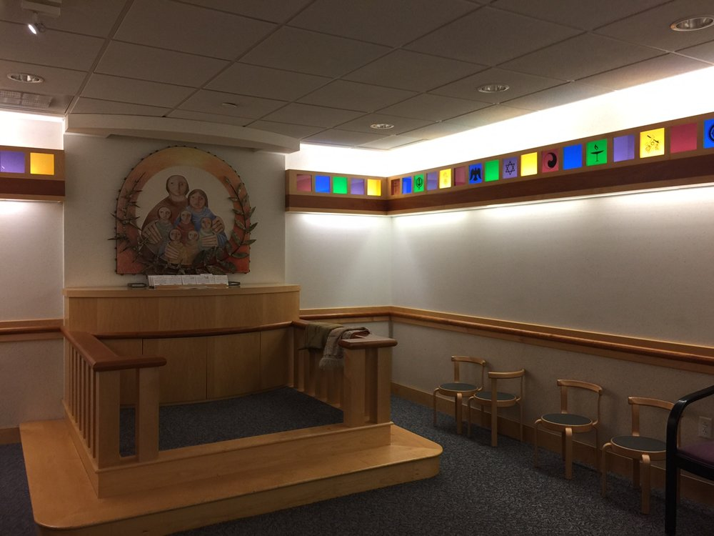 St. Louis Children's Hospital Chapel.