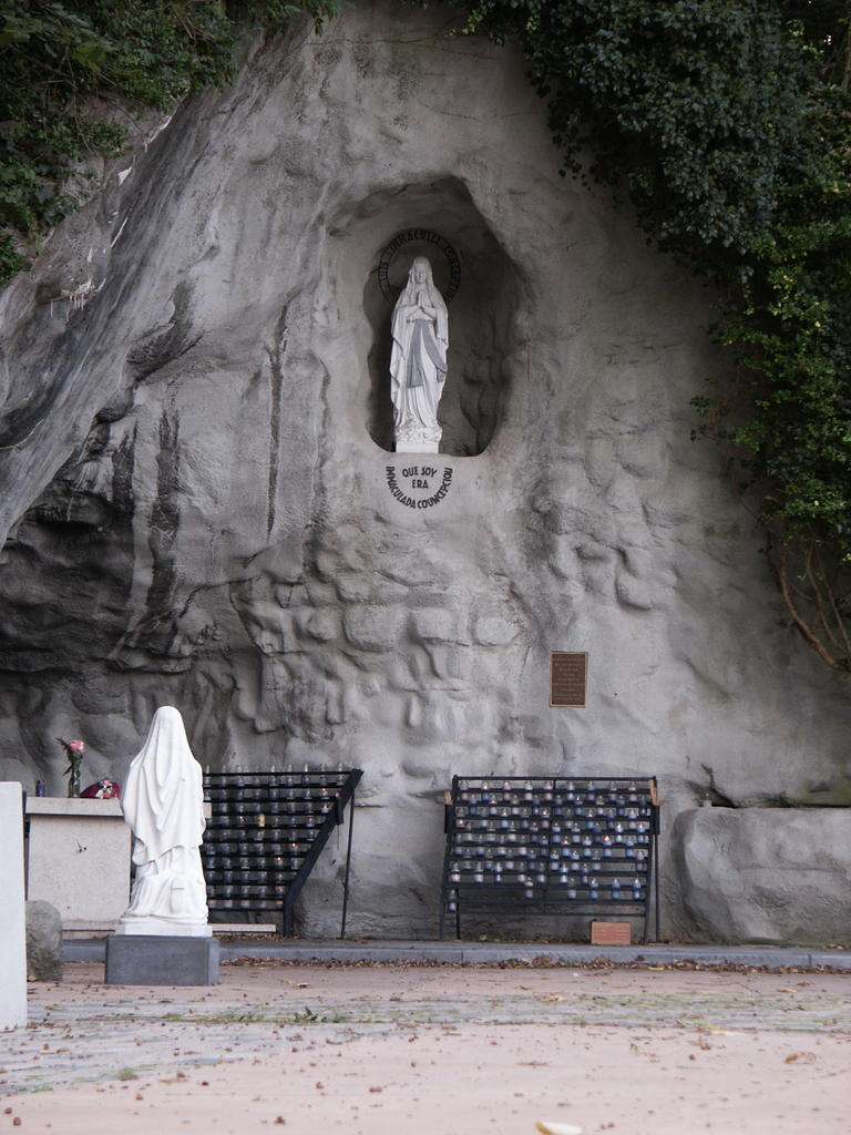 Lourdes Grotto, National Shrine of Our Lady of the Snows. www.romeofthewest.com