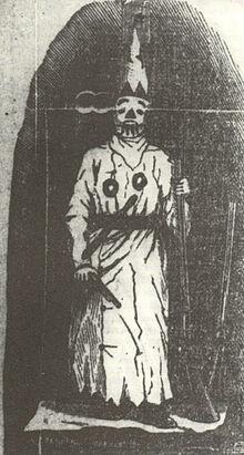 Veiled Prophet of Khorassan, c. 1877.