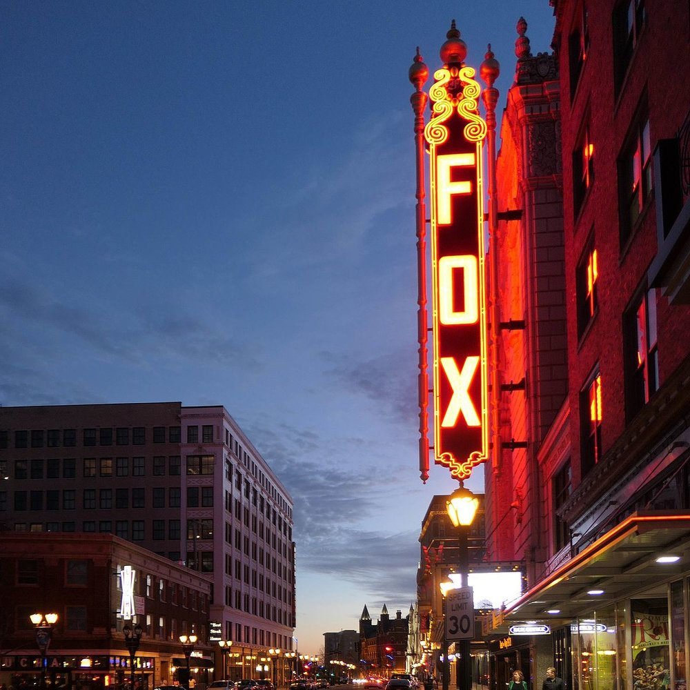 Fox Theater, Saint Louis, Mo. Wikimedia.