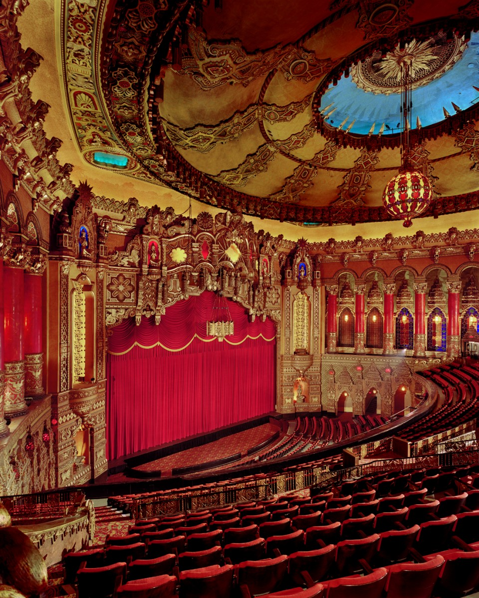 Interior of the Fox Theater, St. Louis, Mo. Wikimedia.