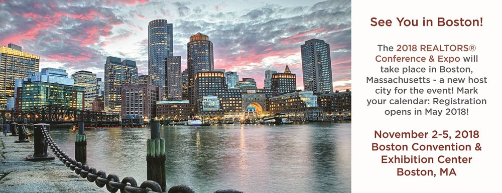 Conference In Boston Wednesday November >> 2018 Realtors Conference Expo Boston Ma La Realtors