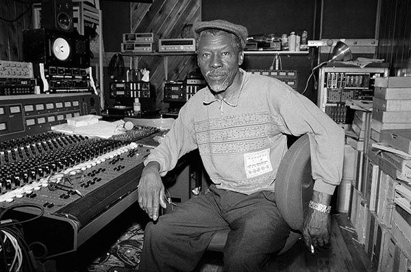 "Clement ""Sir Coxsone"" Dodd of Studio One. Photo © David Corio."