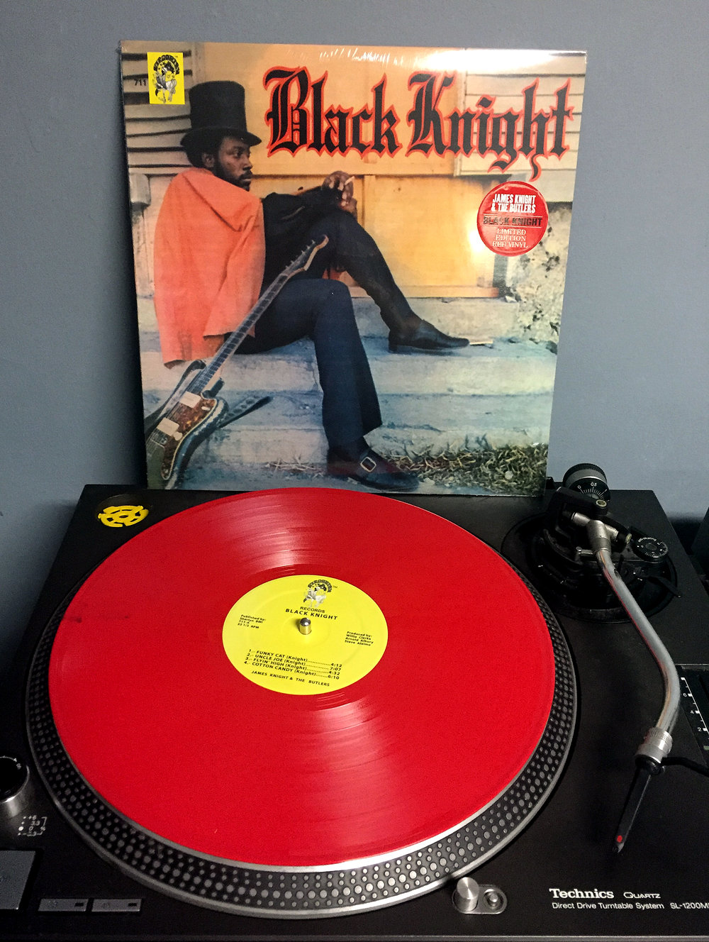 JAMES KNIGHT & THE BUTLERS Black Knight Artist Link: jamesknightandthebutlers.com Label: Virgorian Records