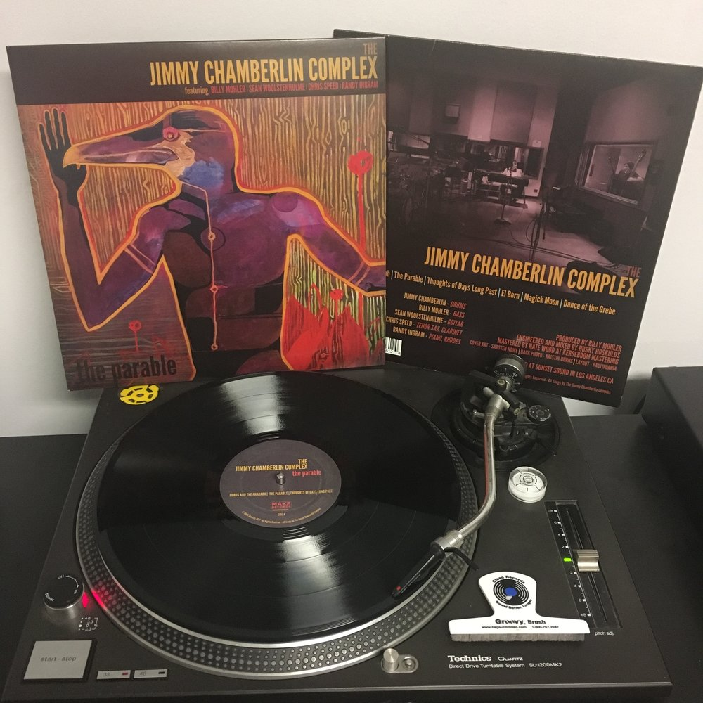 THE JIMMY CHAMBERLIN COMPLEX   The Parable  Artist Link:  https://twitter.com/jccomplex  Label : Make Records  www.MakeRecords.com