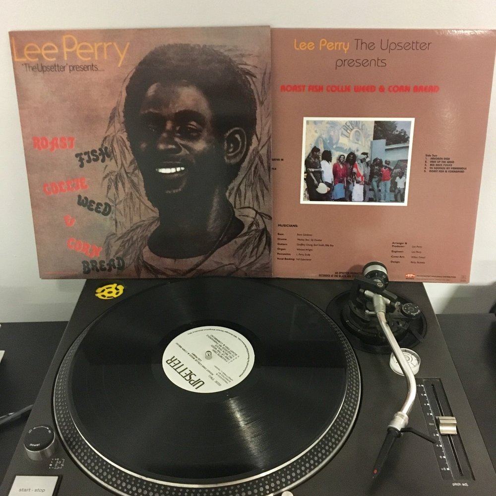 LEE PERRY   Roast Fish Collie Weed & Cornbread  Artist Link :  www.lee-perry.com  Label : VP Records