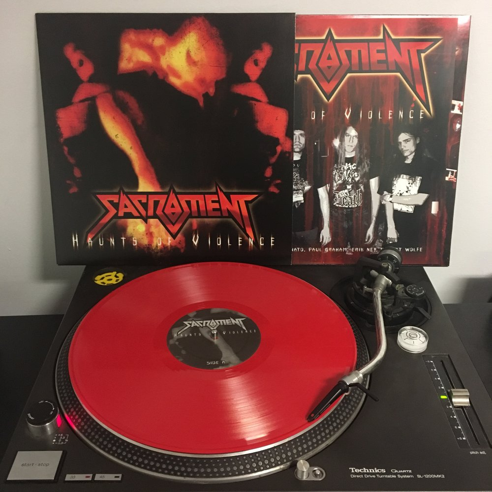 SACRAMENT   Haunts Of Violence  Artist Link :  https://www.youtube.com/watch?v=jY8UjpSSCBc  Label : Retroactive Records