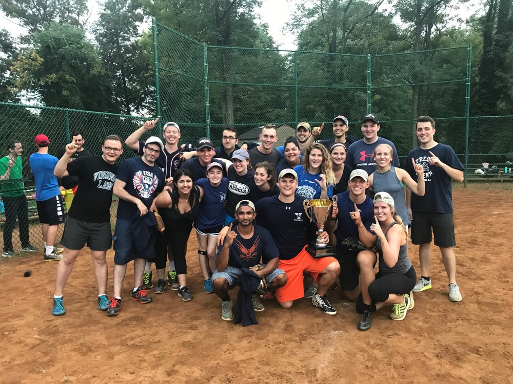 Section C, 1L softball champions, pose for a photograph. Photo courtesy of Kim Hopkin.