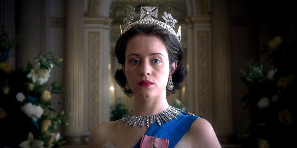 Claire Foy stars as Queen Elizabeth II in a dimly lit but otherwise great TV show. Photo courtesy of Netflix.