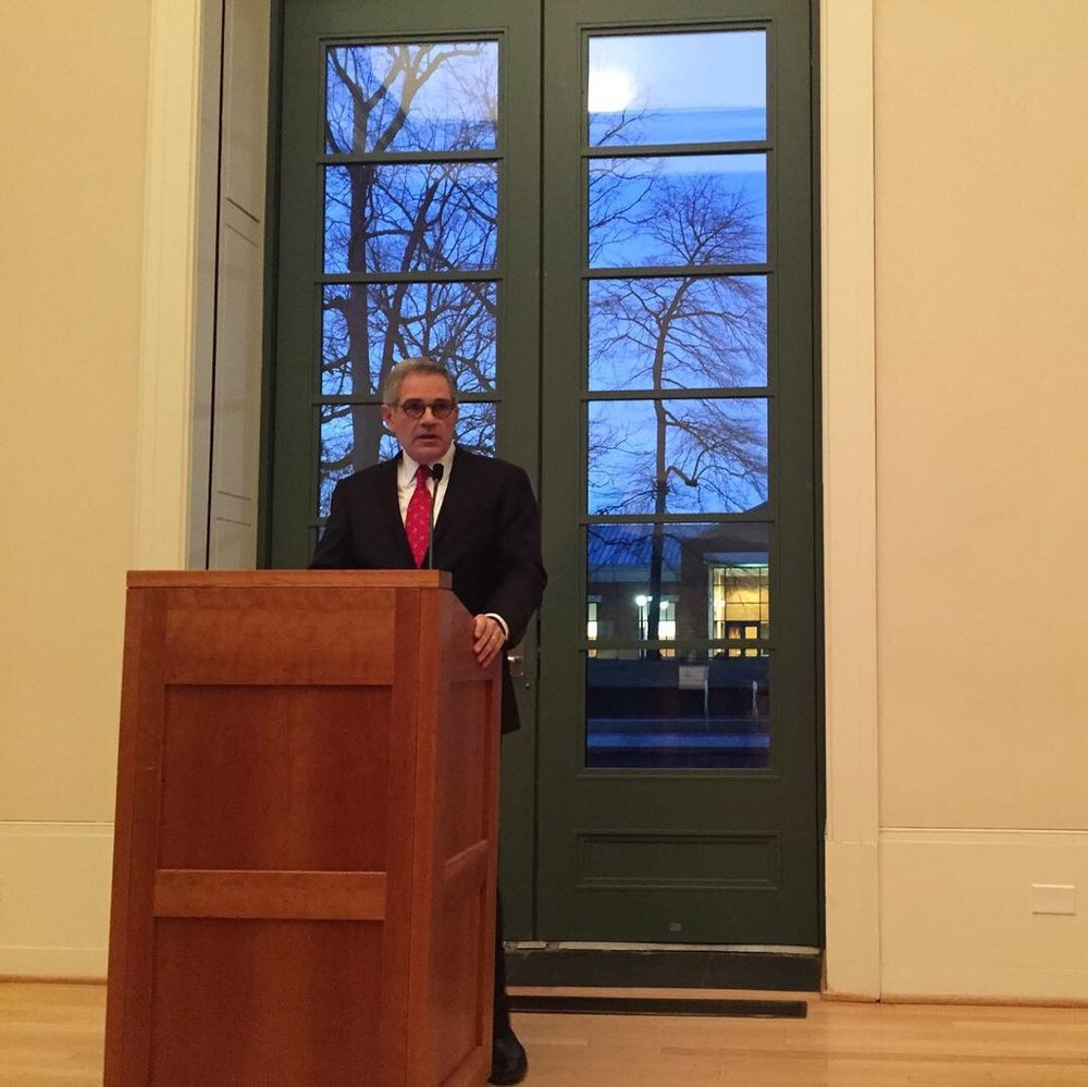 Philadelphia DA Larry Krasner keynotes the Shaping Justice Conference. Photo courtesy Rachel Davidson Raycraft.