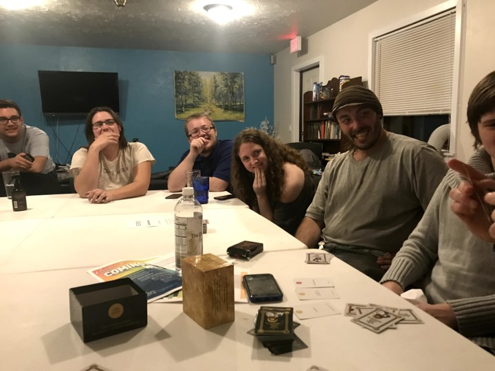 One of our game nights.