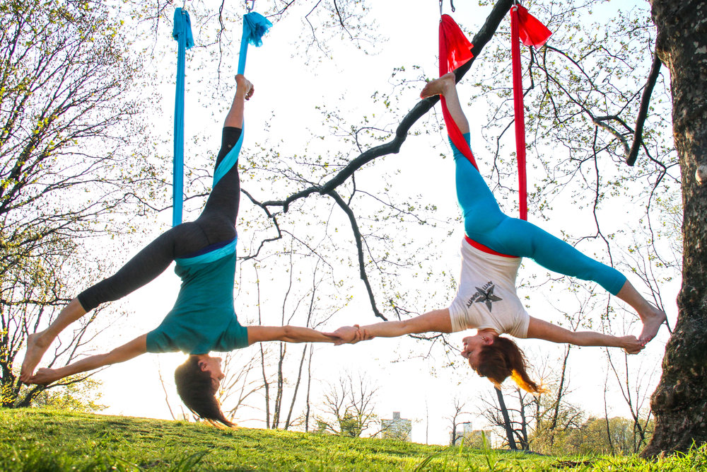 2014 - Renea Stevens & Lorianne Major, Central Park