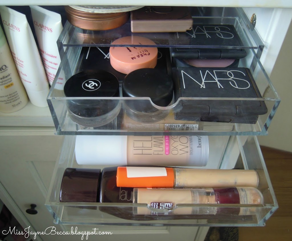 picture of my make up storage
