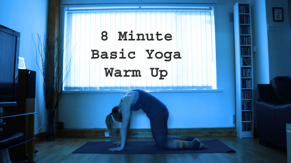 8 min Yoga Warm Up Thumbnail