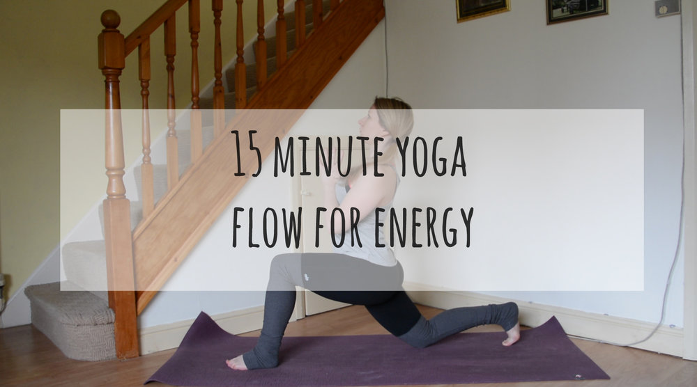 yoga flow for energy