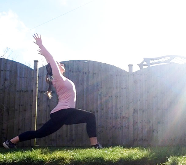 yoga for runners high lunge