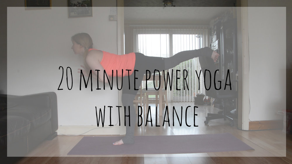 20 minute power yoga