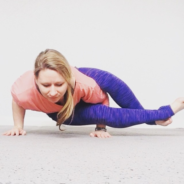 jayne becca yoga eight angle pose