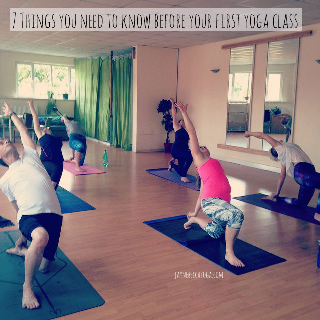 Things you Need to Know Before your First Yoga Class