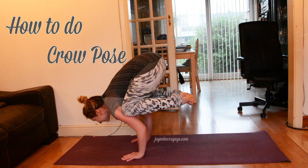 how to do crow pose thumbnail