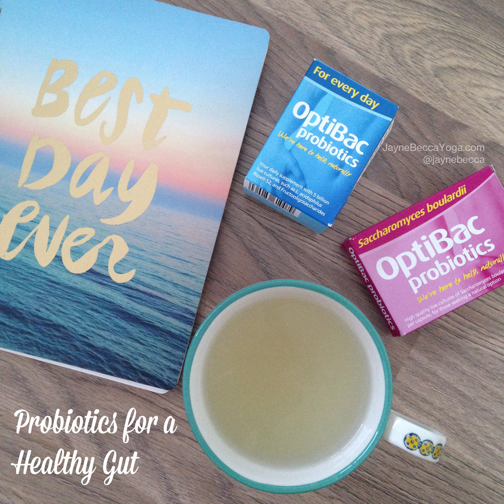 OptiBac Probiotics for a Healthy Gut - The Facts + My Thoughts - JayneBeccaYoga