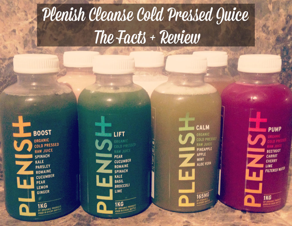 Plenish Cleanse Cold Pressed Juice - The Facts + Review - JayneBeccaYoga