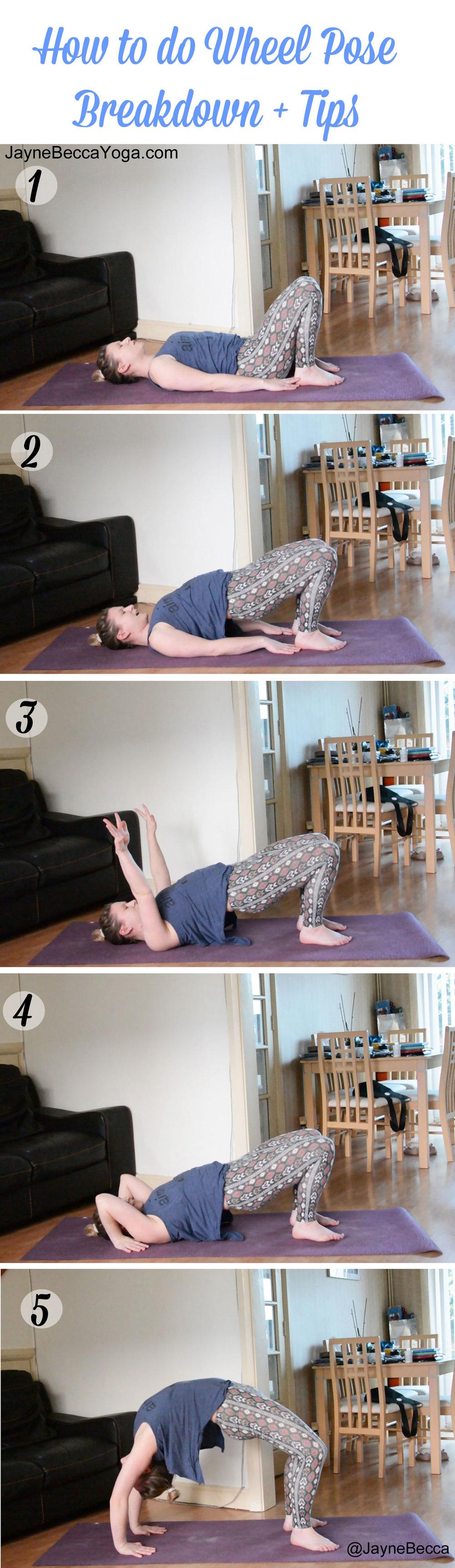 How to do Wheel Pose - Jayne Becca Yoga