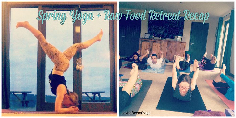 Spring Yoga and Raw Food Retreat - Jayne Becca Yoga