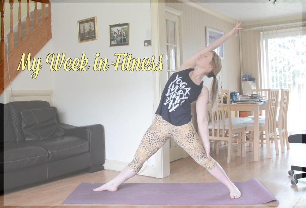 My Week in Fitness - Jayne Becca Yoga