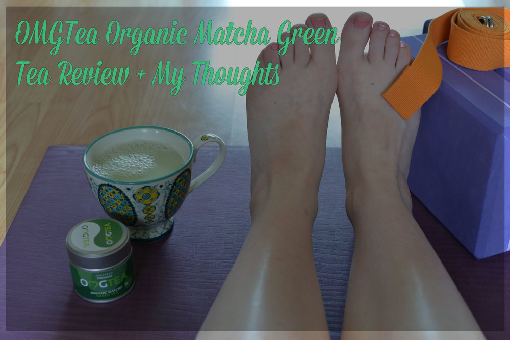 OMGTea Organic Matcha Green Tea Review - Jayne Becca Yoga