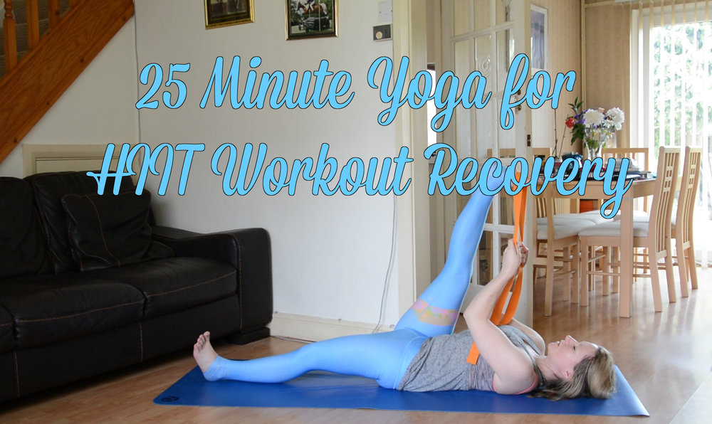 25 Minute Yoga for HIIT Workout Recovery - Jayne Becca Yoga