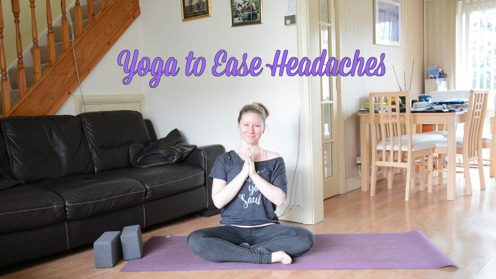 Yoga to Ease Headaches - Jayne Becca Yoga