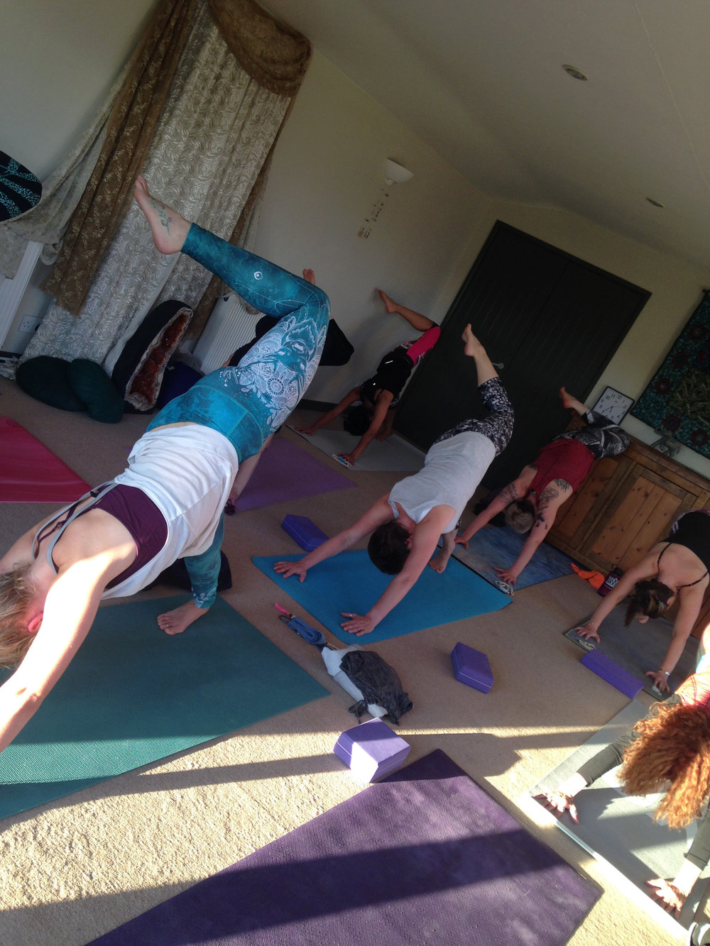 October 2016 Devon Autumn Yoga Retreat Recap