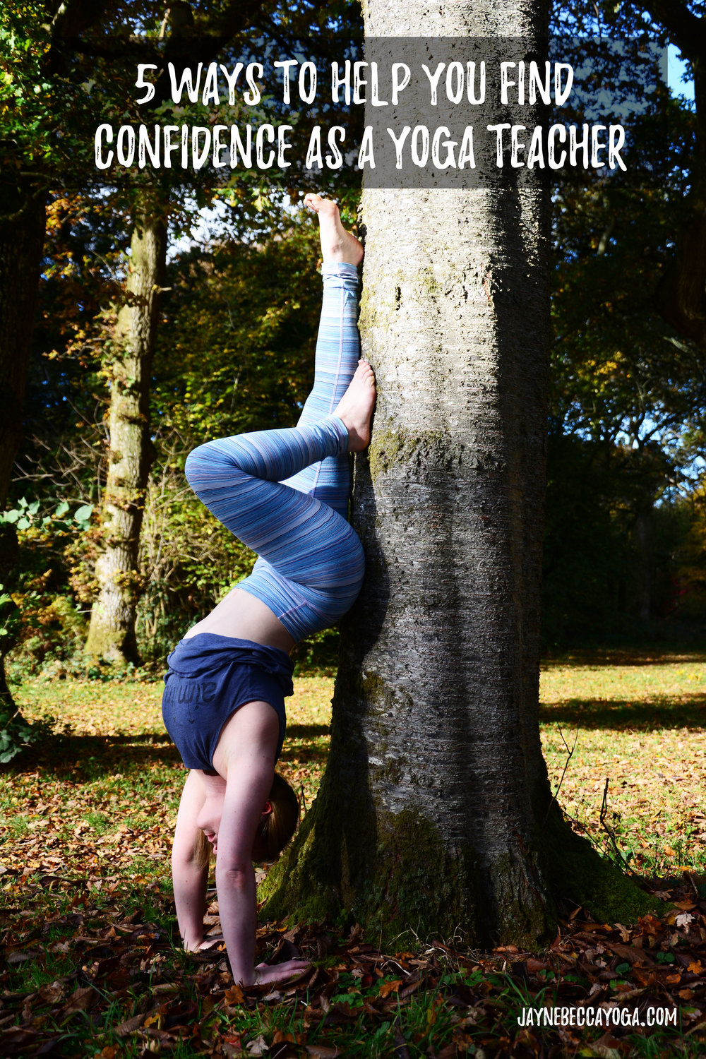 Pin It!5 Ways to Help You Find Confidence as a Yoga Teacher - Jayne Becca Yoga