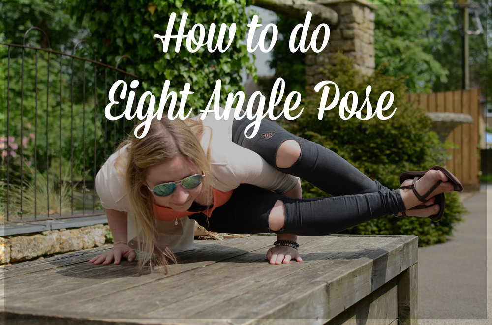 Pin now, practice later! How to do 8 angle pose.